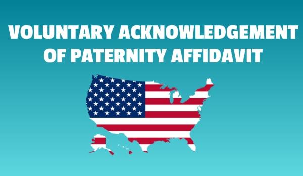 acknowledgment of paternity affidavit links